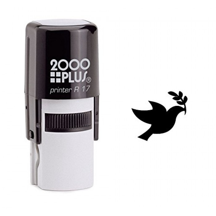 Peace Dove Self Inking Rubber Stamp
