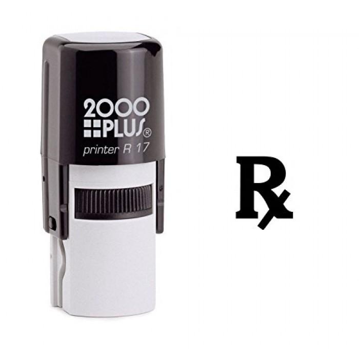 Rx Medical Symbol Self Inking Rubber Stamp
